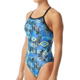 TYR Azoic Diamondfit Swimsuit Women blue/multi